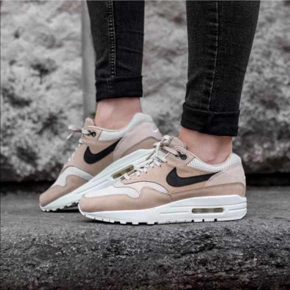 newest 7c3a6 51499 Women s Nike Air Max 1 Pinnacle Mushroom Sneakers